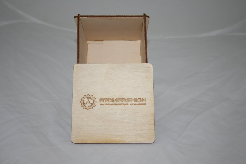 коробка из фанеры лазерная резка, гравировка