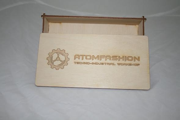 Коробка с крышкой из фанеры