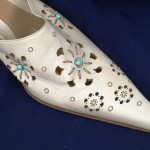 Лазерная резка кожи - обувь
