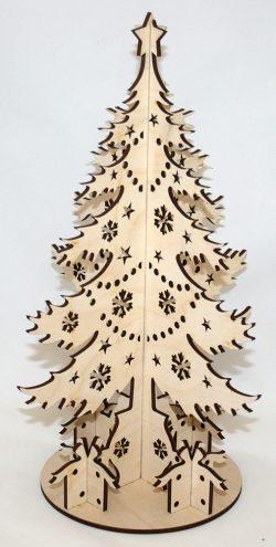 дерево из фанеры