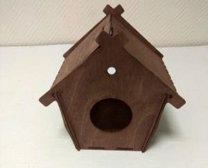 домик из фанеры