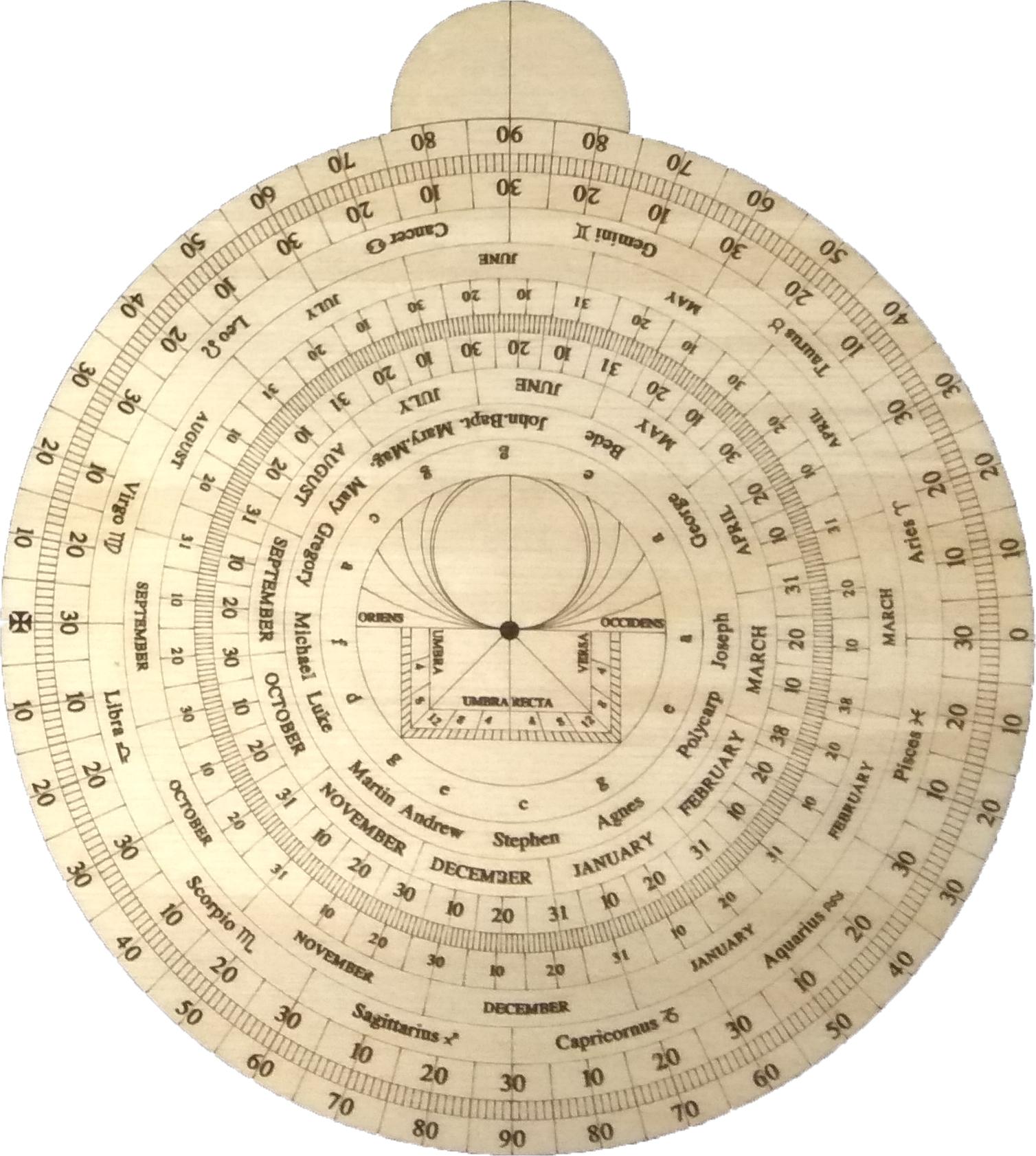 Изготовить астролябию своими руками из фанеры