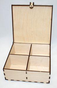 Коробка из фанеры с крышкой