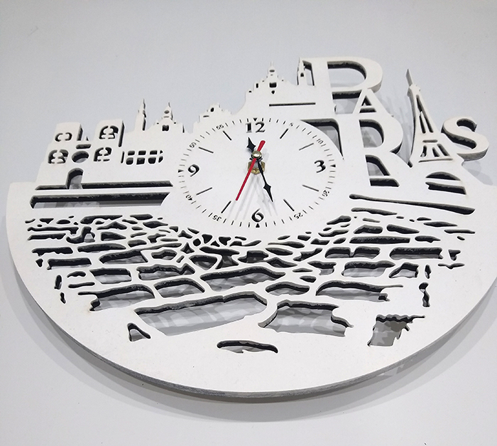 Часы настенные из фанеры