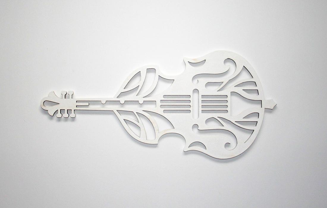 Скрипка из фанеры