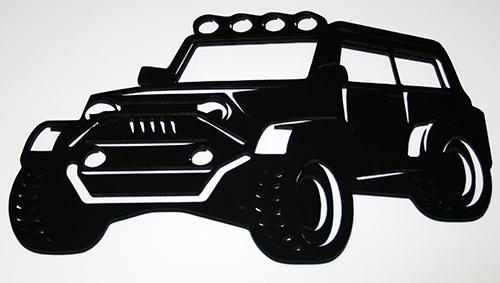 Настенное декоративное панно Автомобиль