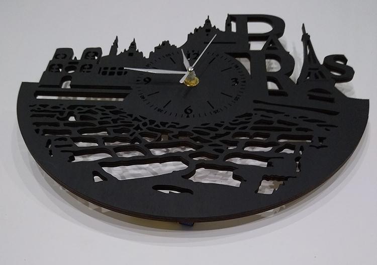Настенные часы Париж