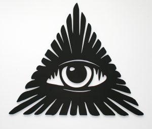 Всевидящее око настенное панно
