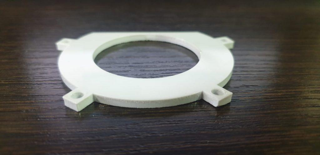 Резка полистирола на лазере