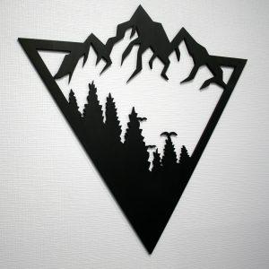 Настенное панно Гора